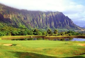 golf course гольф гольфист